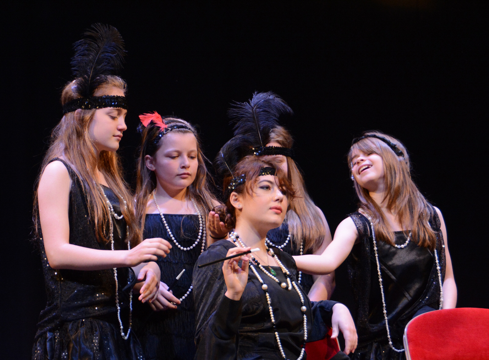 Quinton students perform at musical theatre