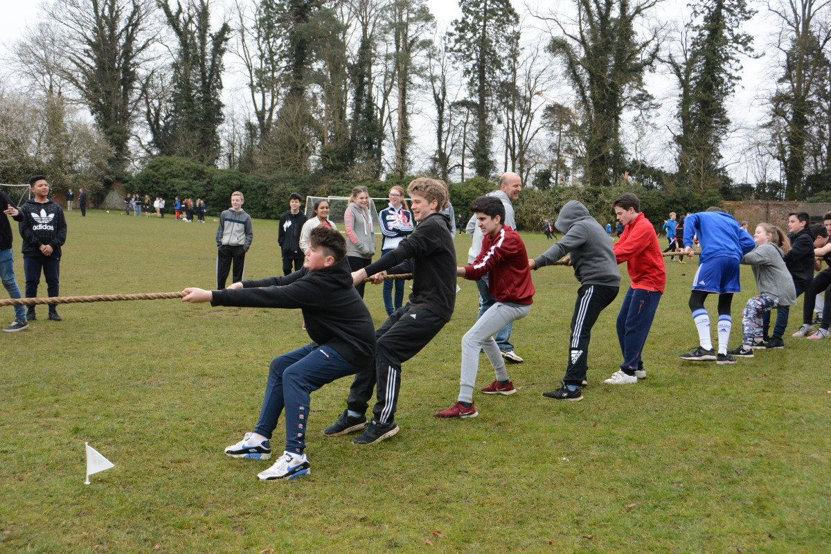 QHS does Sport Relief