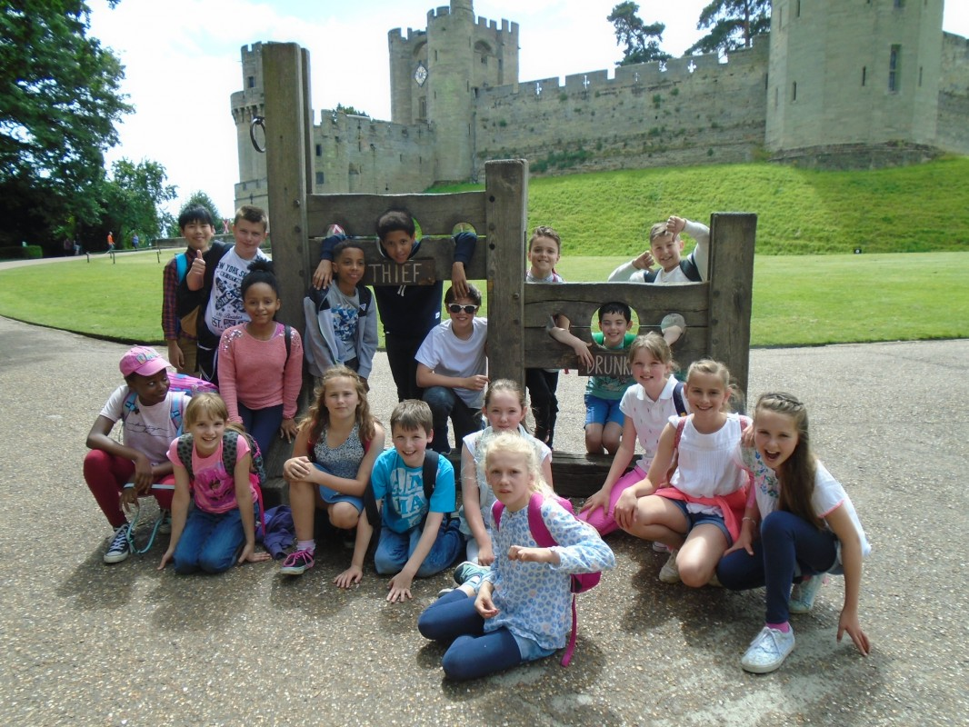 Junior School Visit to Warwick Castle