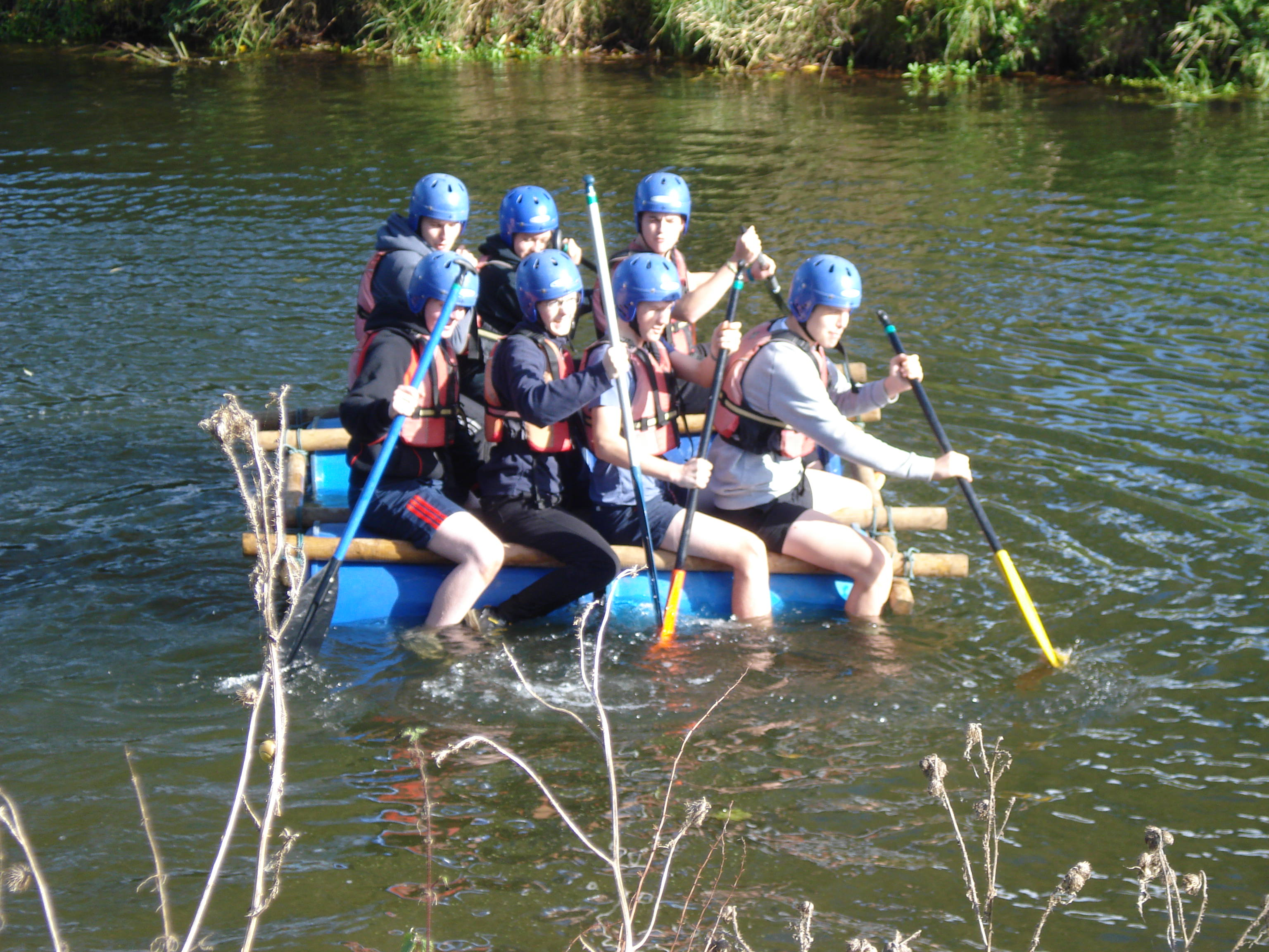 Sixth Formers Enjoy Team Building Day at Frontier Centre