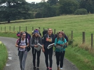 DFE pupils on a school trip