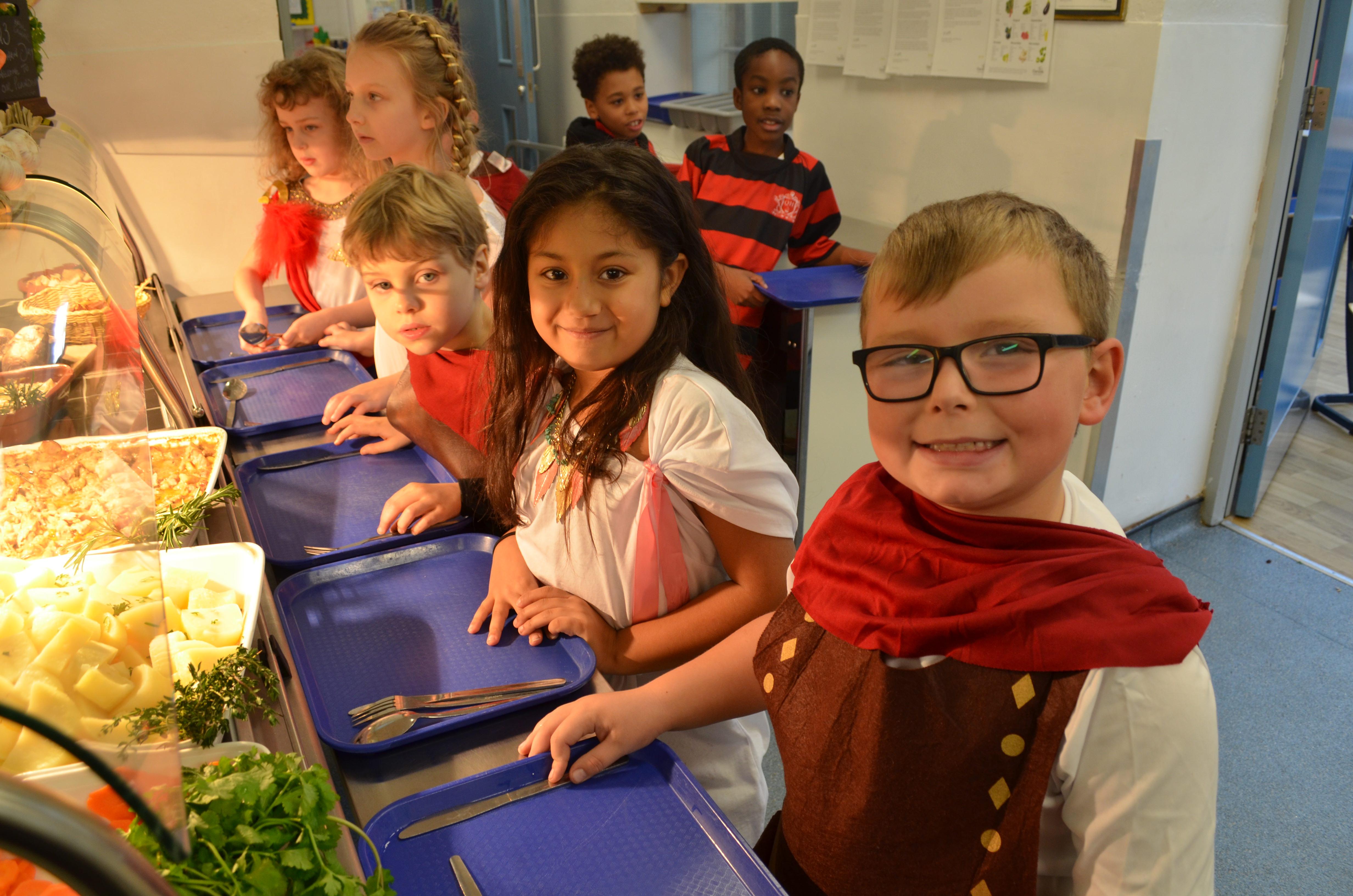 Roman Day at QHS