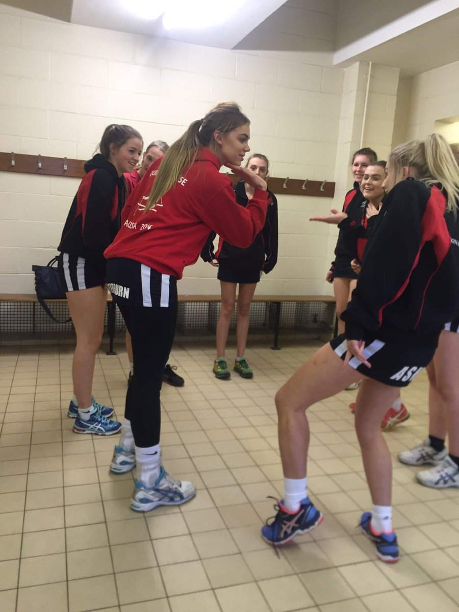QHS sports stars mess around in the changing room