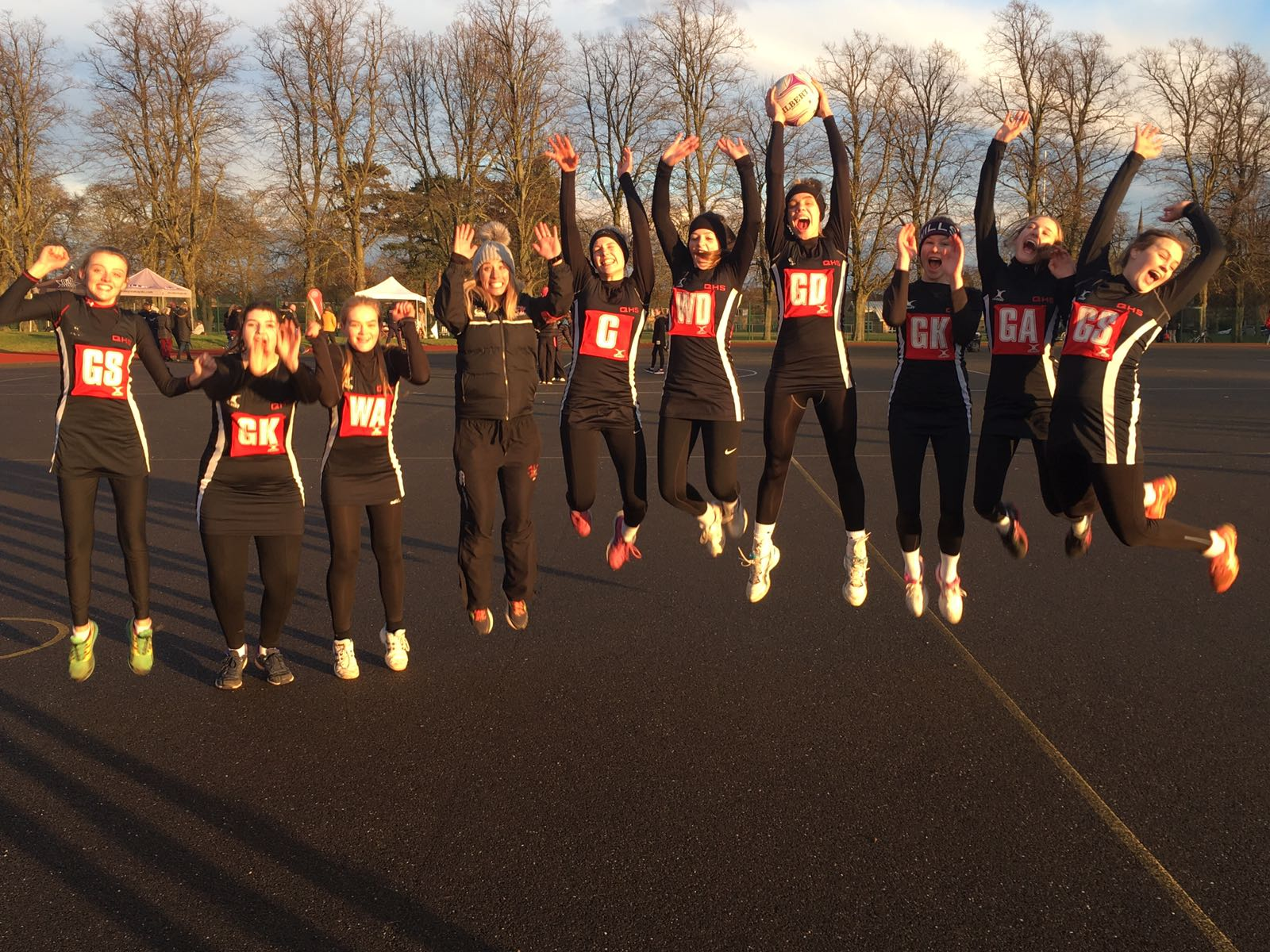 U16s Netball success