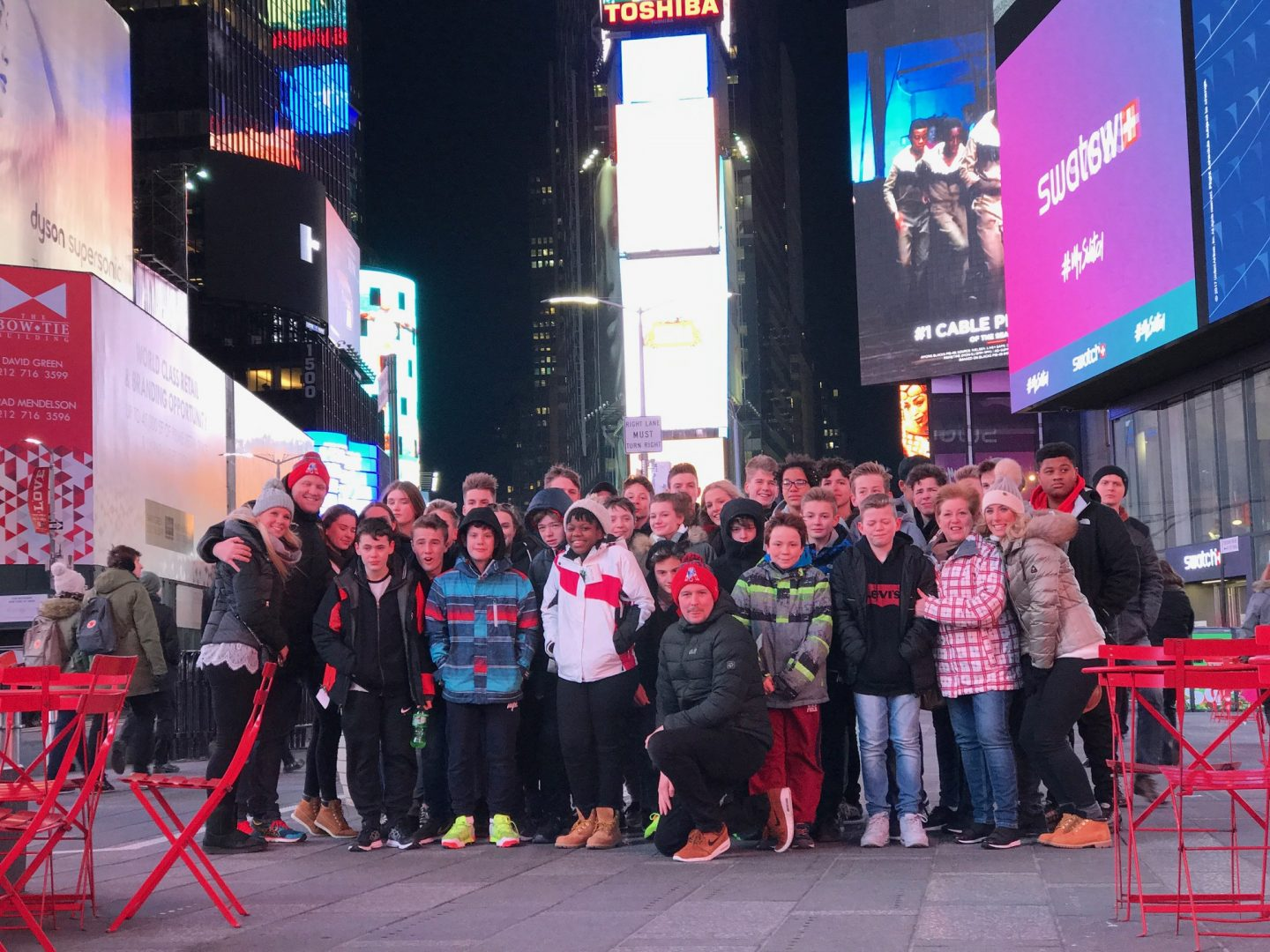 QHS pupils visit New York