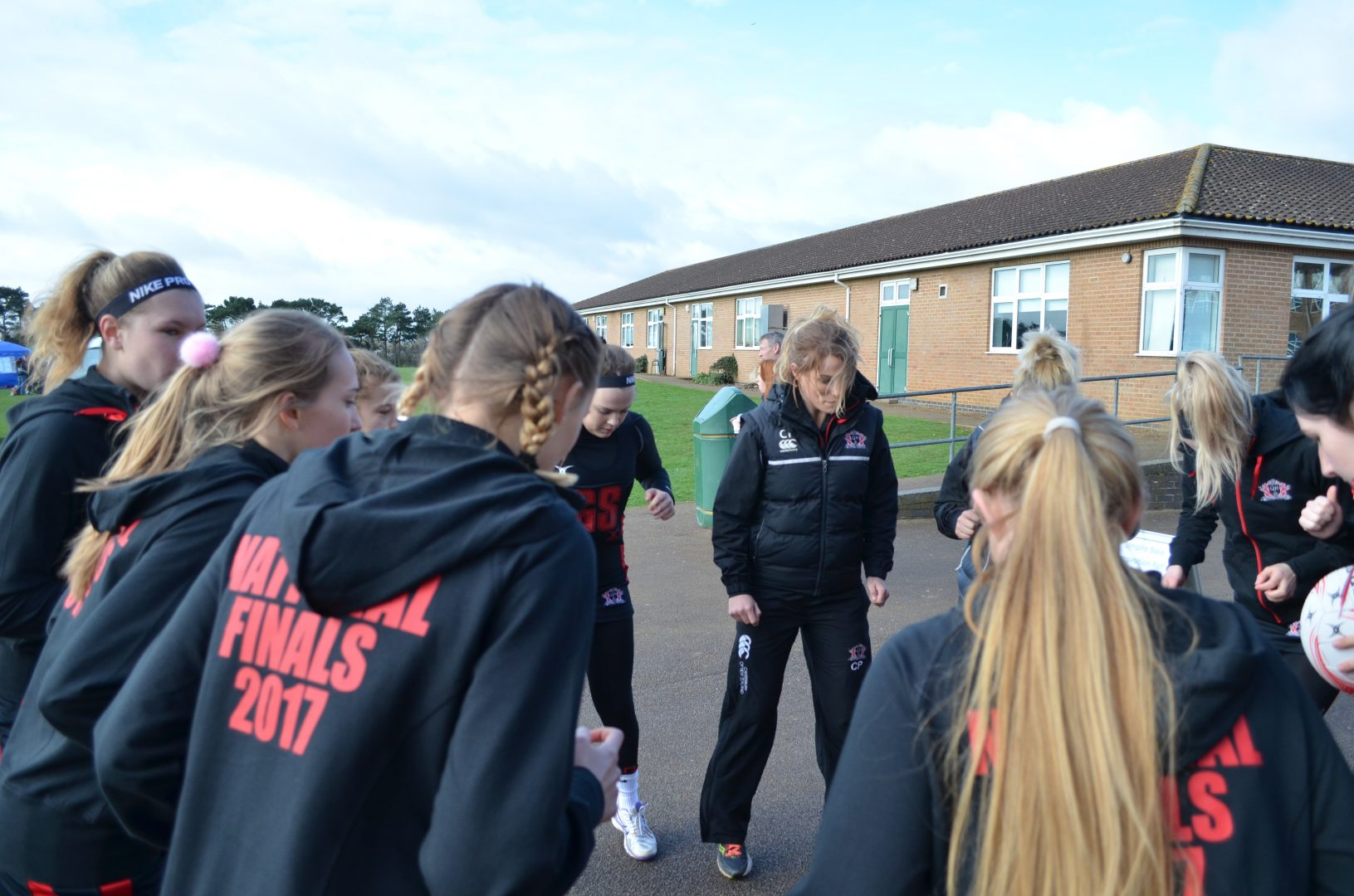QHS pupils prepare for netball finals