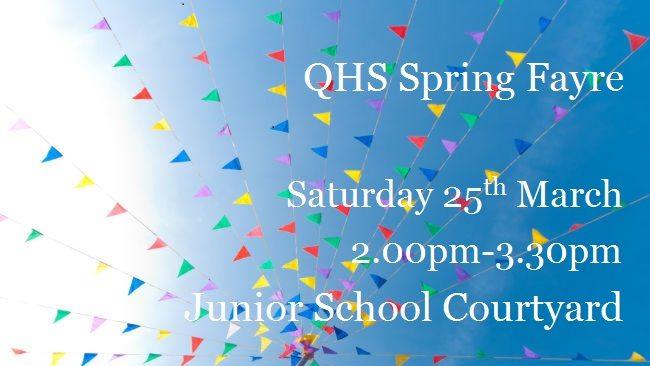 QHS Spring Fayre