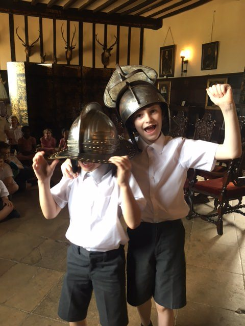 QHS pupils dress as knights