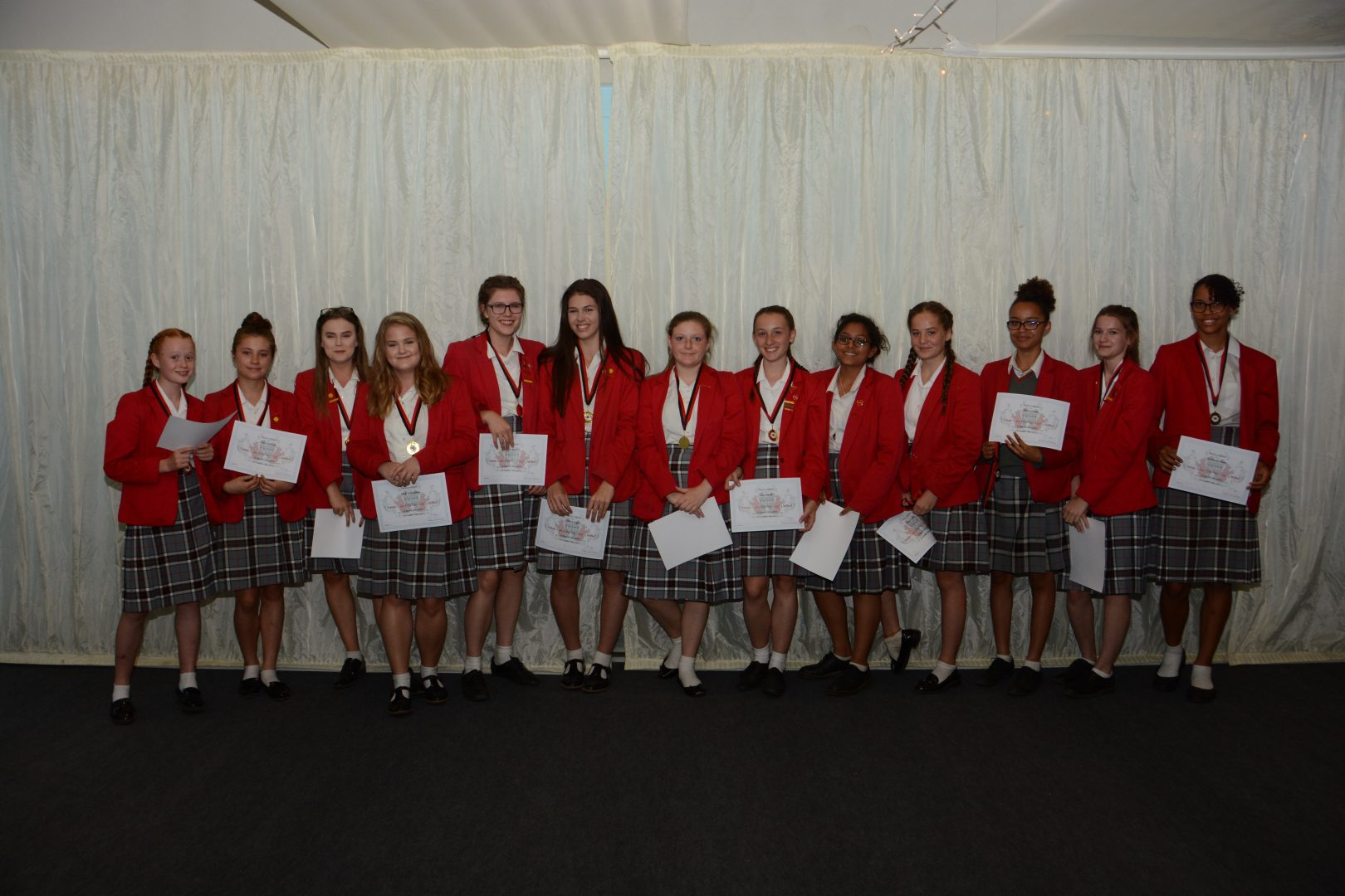 High flyers at QHS celebrate sports achievements