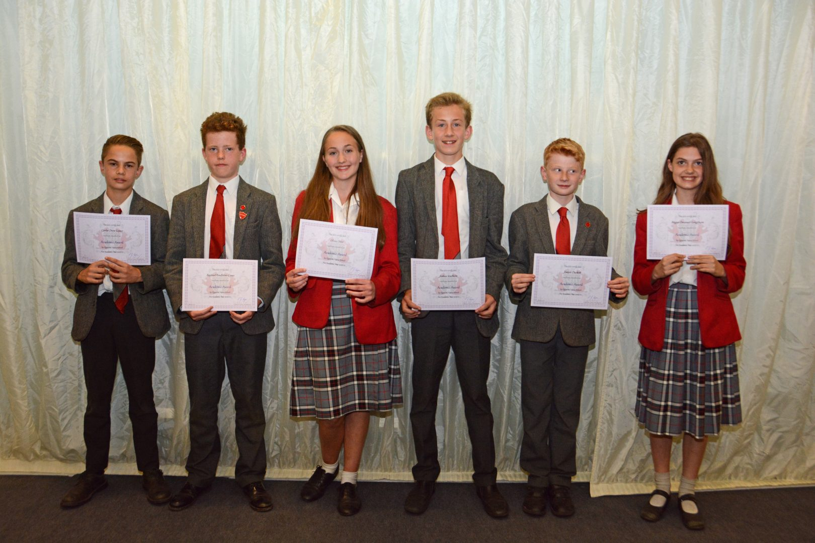 Quinton House celebrate high achievers
