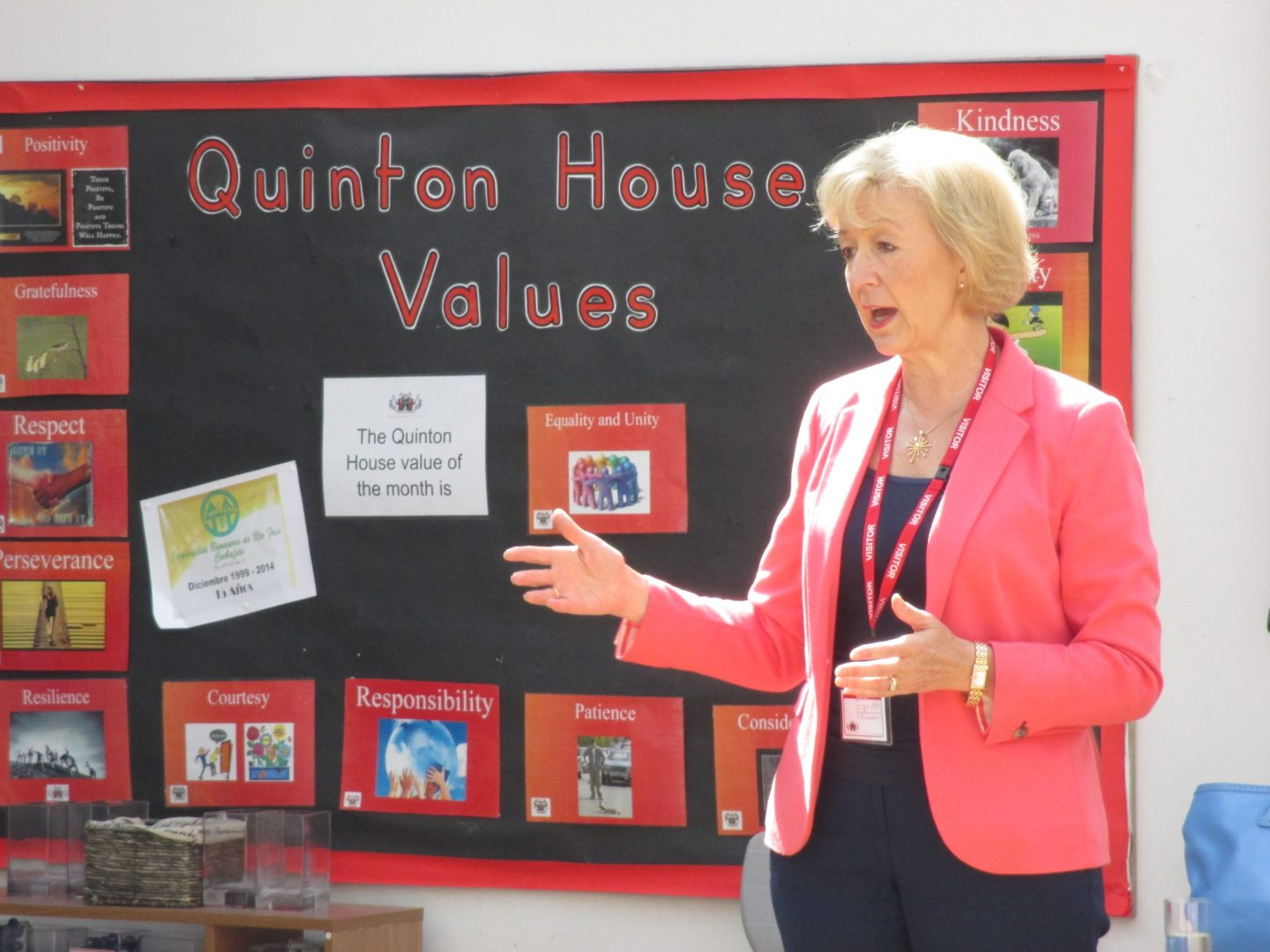 Quinton House Values Presentation