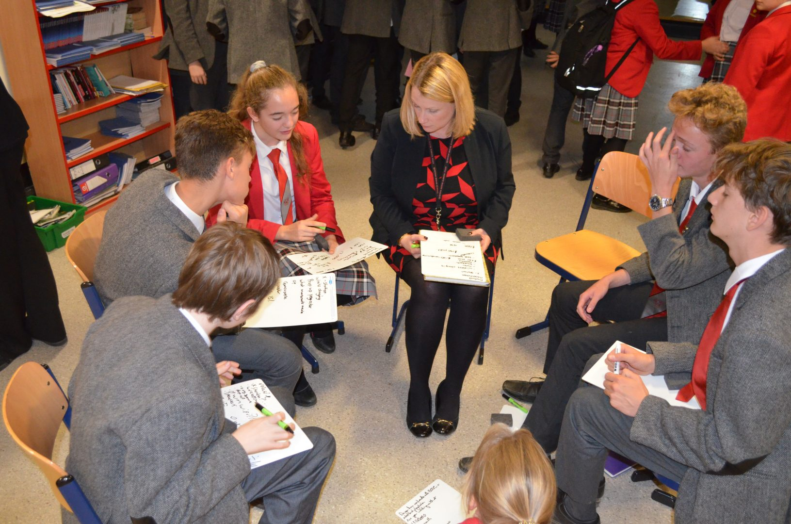 Senior Pupils engagement session