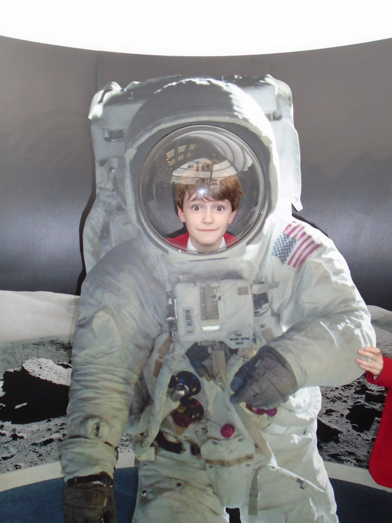 QHS pupil enjoys time at the Space Centre