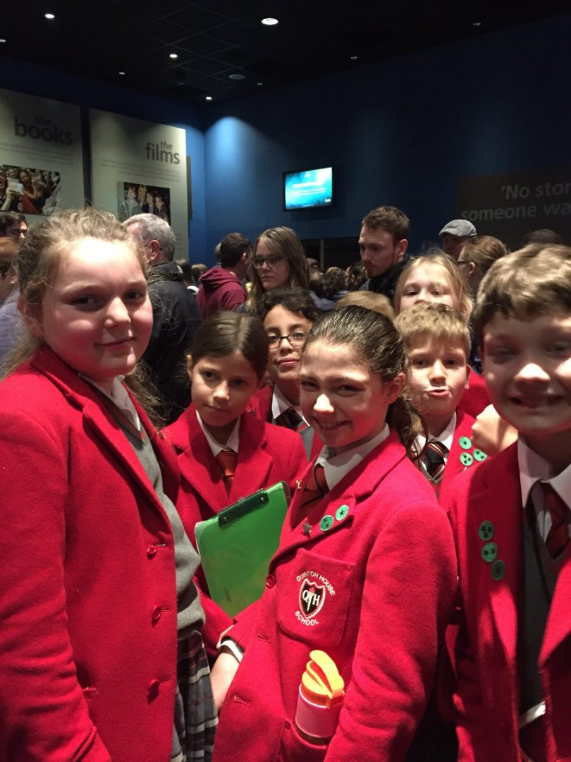 QHS pupils enjoy a day at the museum