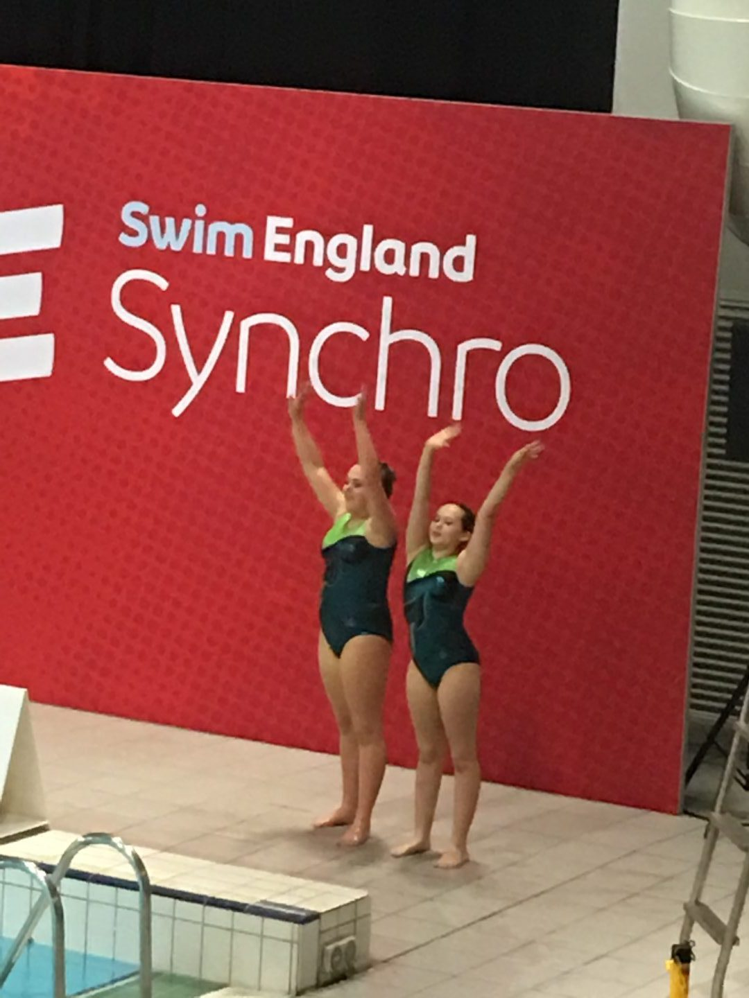 QHS compete at Swim England Nationals Synchro