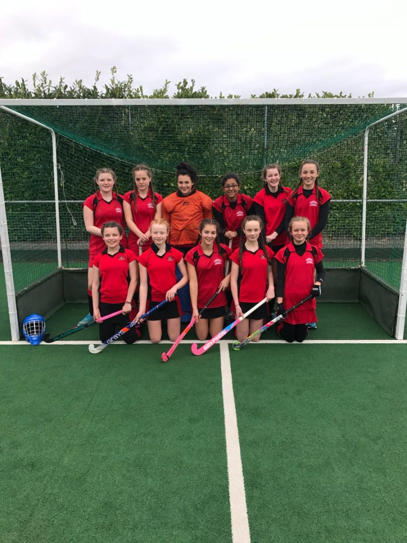 QHS U15s Hockey Team