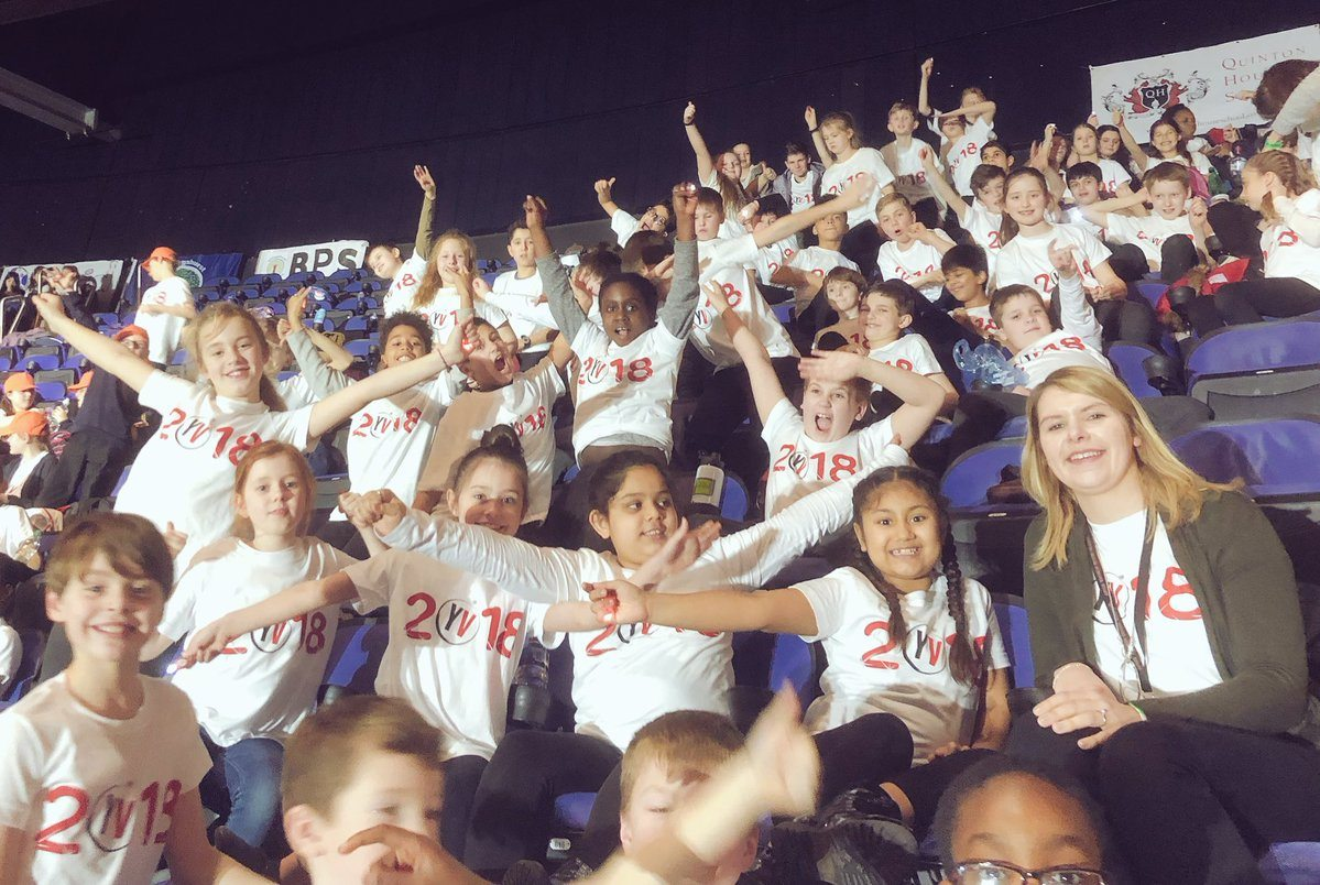 QHS pupils celebrate Young Voices concert