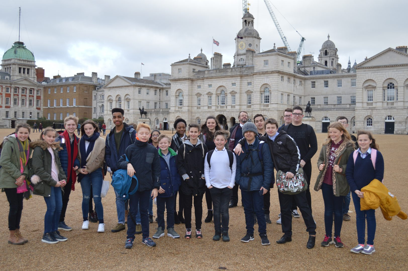 QHS students visit Buckingham Palace