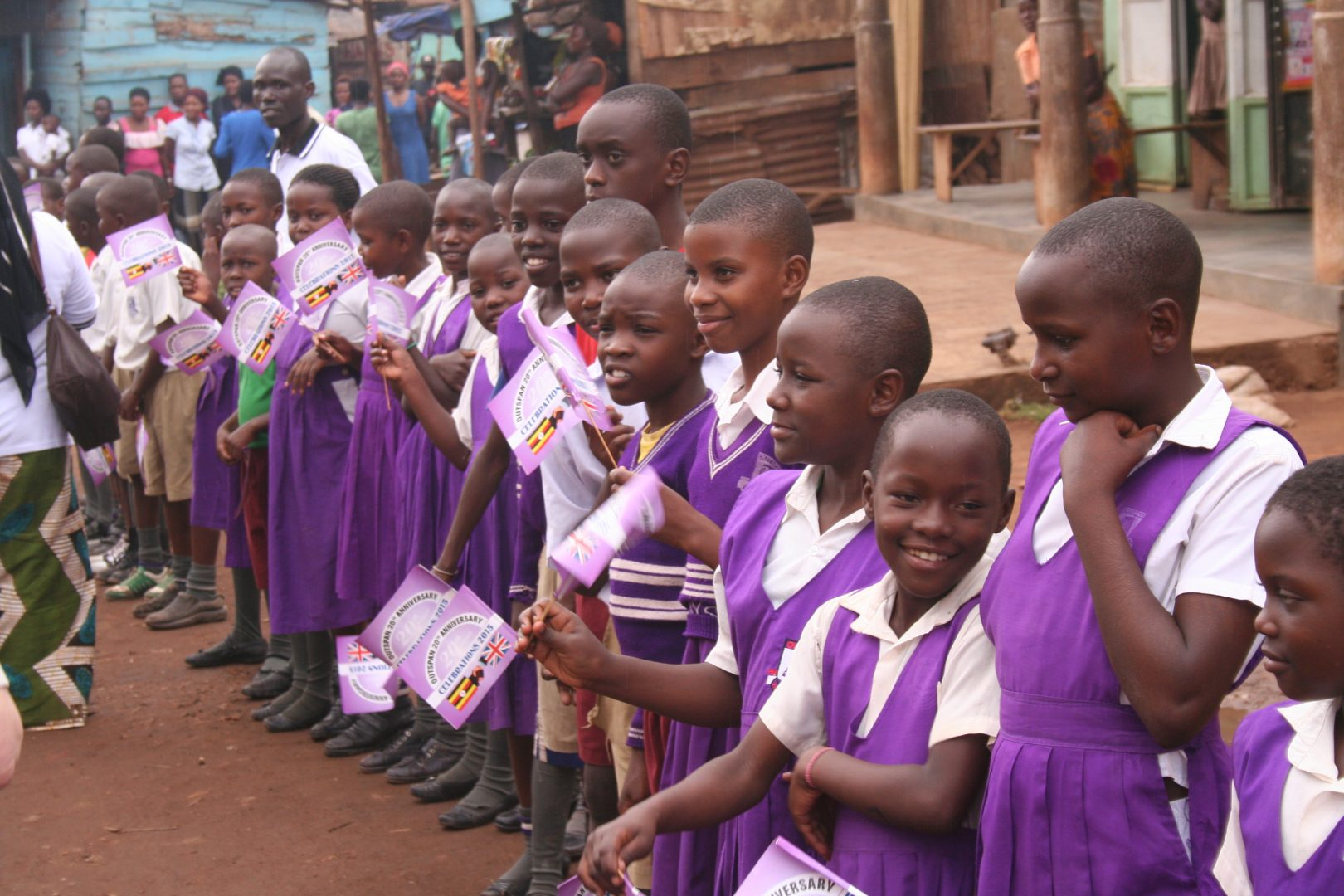 QHS pupils write to students in Uganda