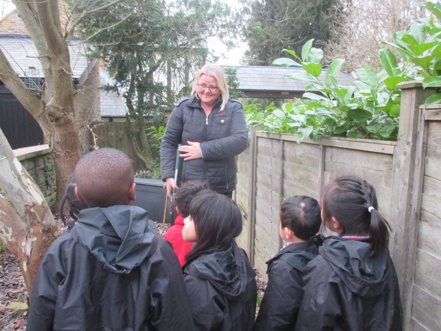 Nursery Children Spruce up Nature Garden