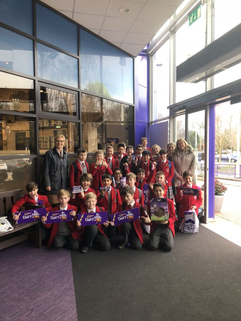 QHS visit the Cadbury's HQ