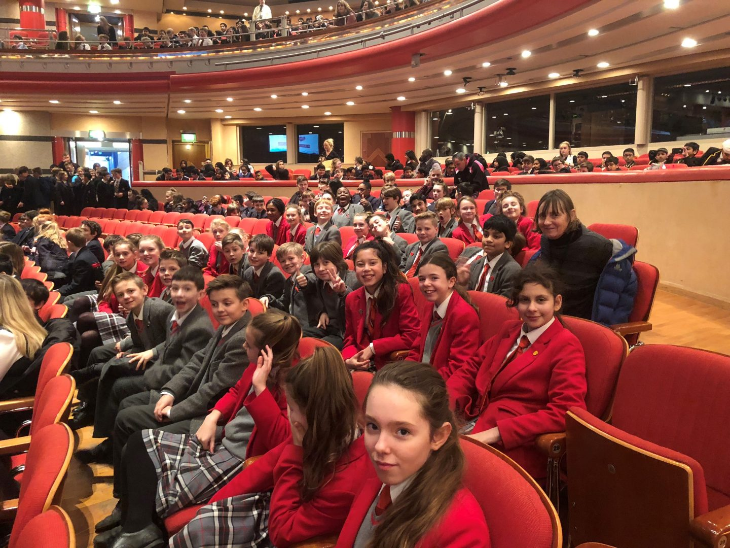 QHS pupils enjoy time at Symphony Hall