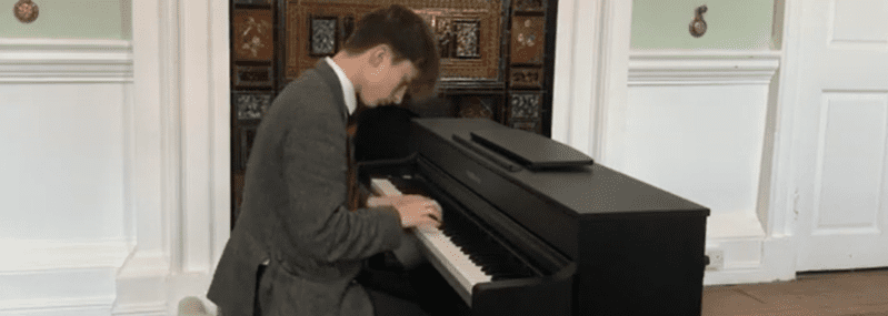 Mattaues Playing Piano