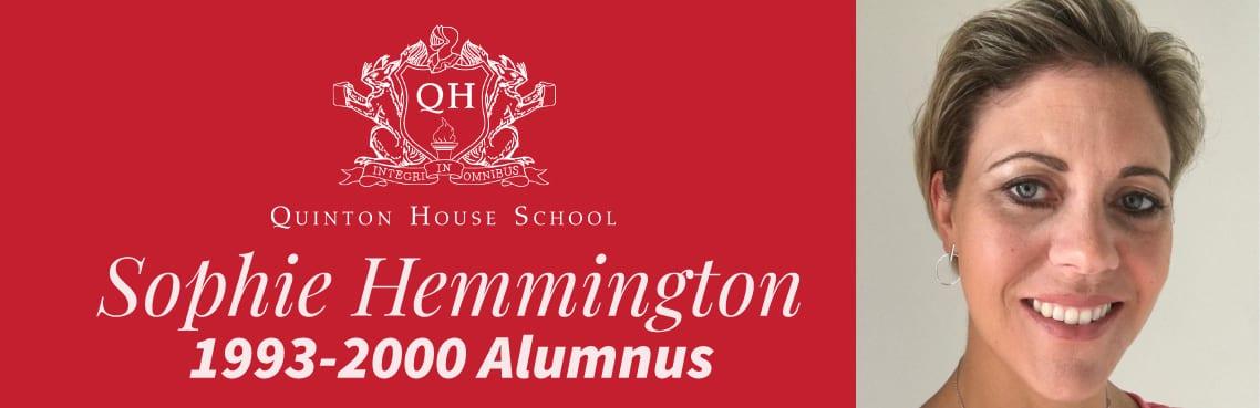 Sophie Hemmington Alumnus